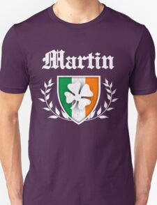 Martin Family Shamrock Crest (vintage distressed) Unisex T-Shirt