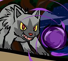 Poochyena | Shadow Ball by ishmam