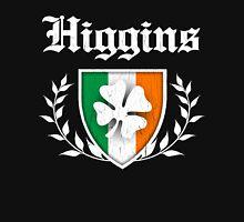 Higgins Family Shamrock Crest (vintage distressed) Unisex T-Shirt