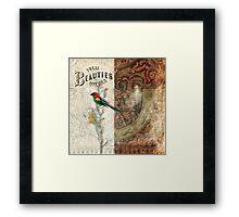 Vocal Beauties Framed Print