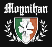 Moynihan Family Shamrock Crest (vintage distressed) by robotface