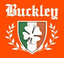 Buckley Family Shamrock Crest (vintage distressed) Kids Tee