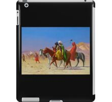 Arabs Crossing the Desert iPad Case/Skin