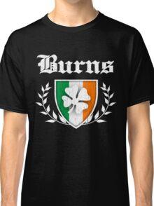 Burns Family Shamrock Crest (vintage distressed) Classic T-Shirt