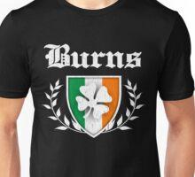 Burns Family Shamrock Crest (vintage distressed) Unisex T-Shirt