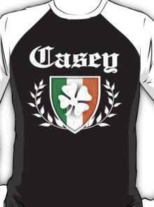 Casey Family Shamrock Crest (vintage distressed) T-Shirt