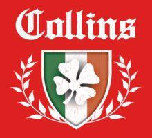 Collins Family Shamrock Crest (vintage distressed) One Piece - Short Sleeve