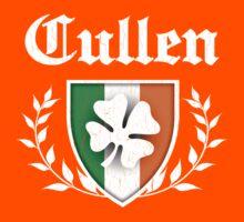 Cullen Family Shamrock Crest (vintage distressed) Kids Tee