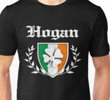 Hogan Family Shamrock Crest (vintage distressed) Unisex T-Shirt