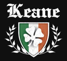 Keane Family Shamrock Crest (vintage distressed) Kids Clothes