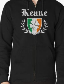 Keane Family Shamrock Crest (vintage distressed) T-Shirt