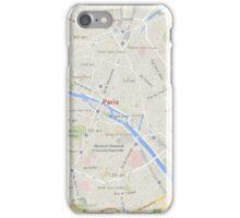maps: paris iPhone Case/Skin