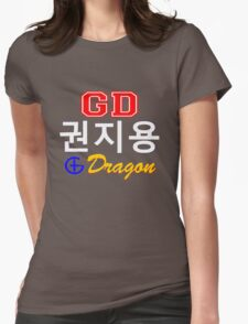 ♥♫Big Bang G-Dragon Cool K-Pop GD Clothing & Cases & Stickers & Bags & Home Decor & Stationary♪♥ Womens Fitted T-Shirt