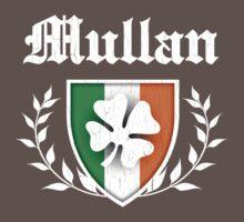 Mullan Family Shamrock Crest (vintage distressed) Kids Clothes