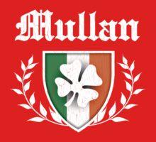 Mullan Family Shamrock Crest (vintage distressed) One Piece - Short Sleeve
