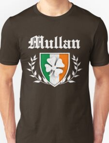 Mullan Family Shamrock Crest (vintage distressed) T-Shirt