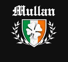 Mullan Family Shamrock Crest (vintage distressed) Unisex T-Shirt