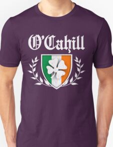 O'Cahill Family Shamrock Crest (vintage distressed) Unisex T-Shirt
