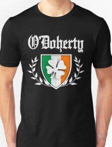 O'Doherty Family Shamrock Crest (vintage distressed) Unisex T-Shirt