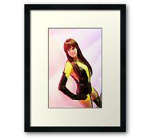 Duchess Sakura Cosplay - Silk Spectre  Framed Print