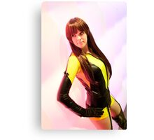 Duchess Sakura Cosplay - Silk Spectre  Canvas Print