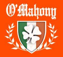 O'Mahony Family Shamrock Crest (vintage distressed) Kids Tee