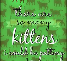 Kittens Though by plaidpants