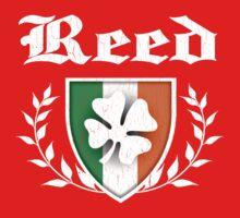 Reed Family Shamrock Crest (vintage distressed) One Piece - Short Sleeve
