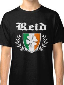 Reid Family Shamrock Crest (vintage distressed) Classic T-Shirt