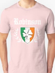 Robinson Family Shamrock Crest (vintage distressed) T-Shirt