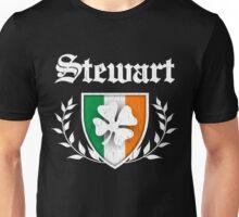 Stewart Family Shamrock Crest (vintage distressed) Unisex T-Shirt