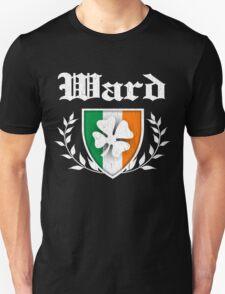Ward Family Shamrock Crest (vintage distressed) T-Shirt