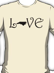 NORTH CAROLINA LOVE T-Shirt