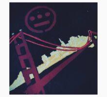 Stencil Golden Gate San Francisco T-Shirt