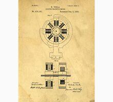 Nikola Tesla Electro Magnetic Motor Patent Classic T-Shirt