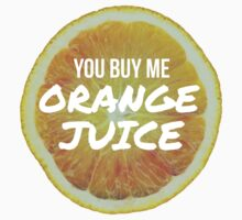 Orange Juice - 400 Lux - Lorde by Liam The Lion