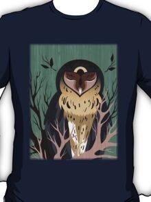 Wooden Owl T-Shirt