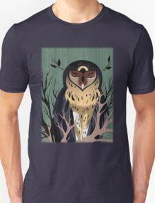 Wooden Owl Unisex T-Shirt