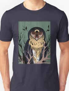 Wooden Owl T-Shirt