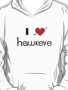 I Heart Hawkeye Shirt T-Shirt