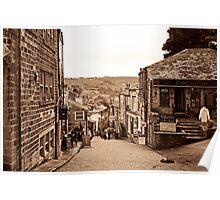 Haworth, Yorkshire Poster