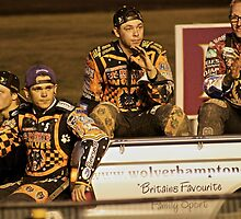 Wolves Speedway Team 4 members  by ejrphotography