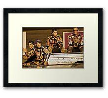 Wolves Speedway Team 4 members  Framed Print