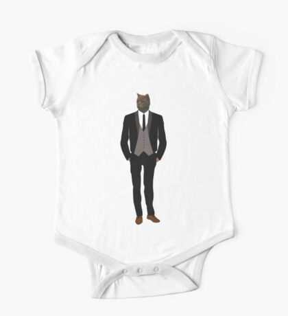 A Suit Of Cats One Piece - Short Sleeve