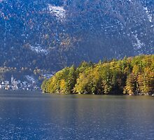 Autumn among the mountains by Robert Hollo