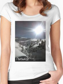 Paradise Women's Fitted Scoop T-Shirt