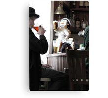 Cheers, Good Elf! Canvas Print