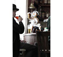 Cheers, Good Elf! Photographic Print