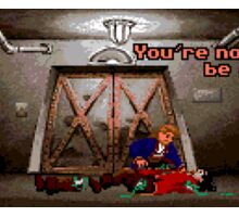 You're not supposed to be in here! (Monkey Island 2) Sticker