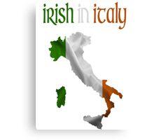 Irish in Italy Canvas Print